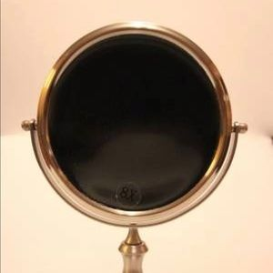 Tabletop Makeup 7.5' Mirror, 1x8 Magnification